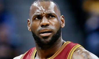 NBA 2K19 : le jeu annoncé, LeBron James sur l'édition 20ème Anniversaire
