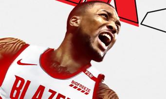 NBA 2K21 : c'est Damian Lillard qui figurera sur la jaquette , le trailer frappadingue