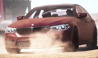 Need for Speed Payback : le trailer de la gamescom 2017 est consacré à la BMW M5 2018