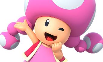 New Super Mario Bros. U Deluxe : une vidéo de gameplay de 15 min en compagnie de Toadette