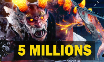 Nioh: the license accumulates 5 million copies worldwide, other figures revealed