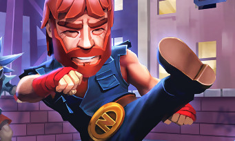 NonStop Chuck Norris : un jeu à l'effigie de la star de Walker Texas Ranger avec des vidéos loufoques