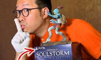 Oddworld Soulstorm : notre unboxing du collector PS5 limité à 100 exemplaires dans le monde