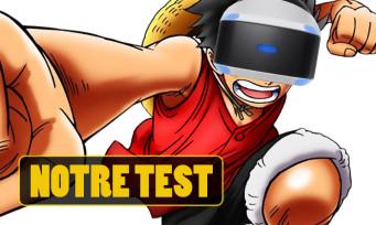 Test One Piece Grand Cruise : une expérience VR qui tombe à l'eau