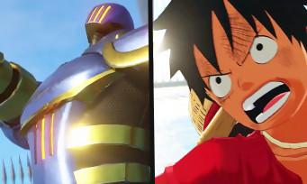 One Piece World Seeker : un trailer de lancement où Isaac revêt son armure de combat