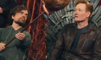 Clueless Gamer : Conan O'Brien joue à Overwatch avec les stars de Game of Thrones