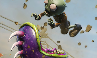 Plants vs Zombies Garden Warfare : un trailer pour la sortie du jeu sur PS4