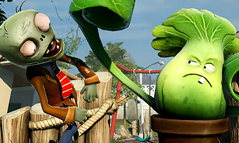 Plants vs. Zombies Garden Warfare se montre sur PS4