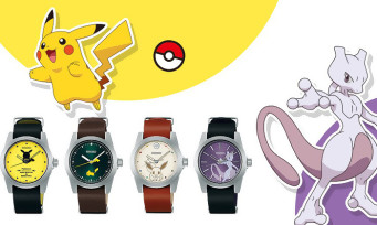 Pokémon: Seiko sells 4 collector's watches bearing the effigy of pocket monsters