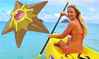 Pokémon GO : elles prennent un kayak pour rejoindre une arène en pleine mer