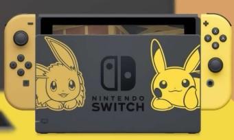 Pokémon Let's Go! : découvrez la Switch collector aux couleurs du jeu !