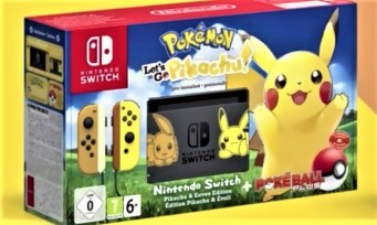 Pokemon Let's Go! : peu de consoles collector pour la France
