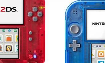 2DS : deux nouveaux coloris pour la sortie de Pokémon Rubis Omega et Saphir Alpha