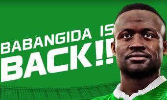 PES 2016 fait revenir le supersonique Babangida !