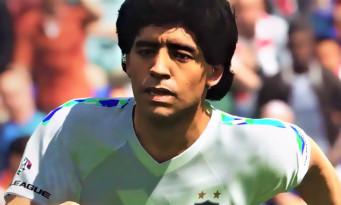 PES 2018 : le jeu dévoile son premier trailer de gameplay avec Usain Bolt et Maradona !