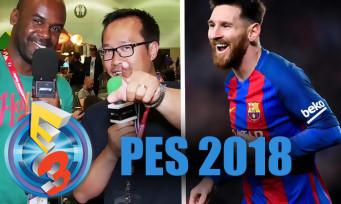 PES 2018 : bien parti pour être meilleur que FIFA 18, nos explications à l'E3 2017