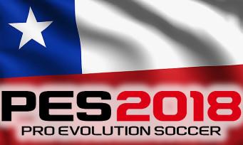 PES 2018 : c'est maintenant au tour du Chili d'avoir droit à son trailer