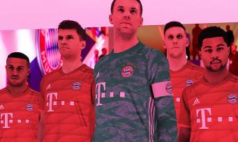 PES 2020 : Konami et le Bayern Munich signent un accord, une nouvelle vidéo avec les stars de l'équipe