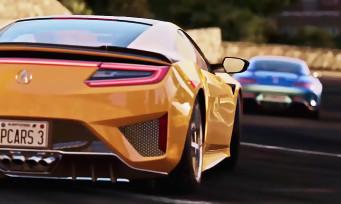 Project CARS 3 : le plein d'infos croustillantes et un premier trailer en 4K