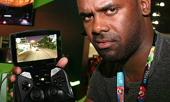 Shield : on a testé la console portable de NVIDIA à l'E3 2013 !