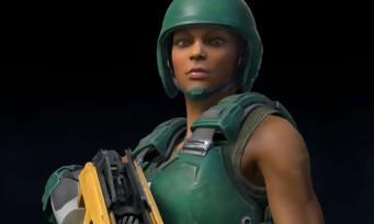 Quake Champions : une vidéo dévoile Athena et le mode Slipgate