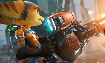 Ratchet & Clank Rift Apart : un trailer qui présente quelques armes, c'est toujours aussi beau