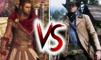 Red Dead 2 VS Assassin's Creed Odyssey : comparatif des 2 plus grands open world de 2018