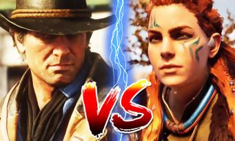 Red Dead 2 VS Horizon Zero Dawn : l'heure du comparatif a sonné, qui est le plus beau ?