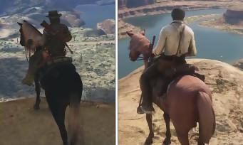 """Red Dead Redemption 2 : comparaison et évolution de la map """"New Austin"""" avec le 1er Red Dead"""