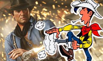 Red Dead Redemption 2 : après les Dalton, Lucky Luke est lui aussi dans le jeu, la vidéo qui le prouve