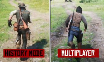 Red Dead Online : un downgrade graphique par rapport à Red Dead 2 ? Comparatif en vidéo