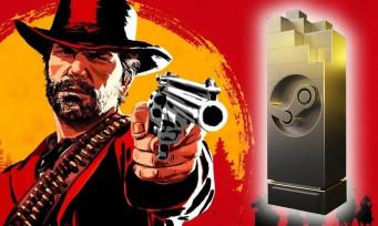 Red Dead Redemption 2 : le jeu de Rockstar élu GOTY 2020 lors des Steam Awards