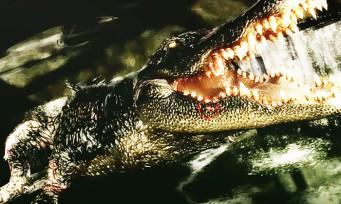 """Resident Evil 2 : quand les devs parlent du crocodile géant, """"une scène ridicule difficile à reproduire"""""""