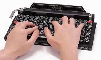 """Resident Evil 2 : Capcom vend un clavier """"machine-à-écrire"""", un accessoire déjà collector"""
