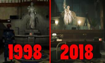 Resident Evil 2 : à quel point le commissariat de Raccoon City a-t-il changé ? Une vidéo fait le comparatif