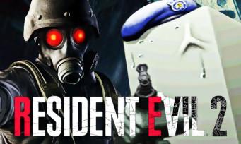Resident Evil 2 : un trailer présente 2 personnages loufoques, ça sent la nostalgie à plein nez