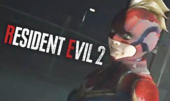 Resident Evil 2 : un mod permet carrément de jouer avec Captain Marvel, en voici la vidéo