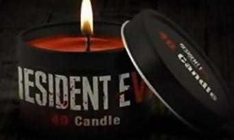 Resident Evil 7 : une bougie officielle au parfum de sang et de bois pourri !