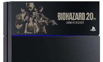 Resident Evil : une PS4 collector pour le 20ème anniversaire de la série qui ne fait pas vraiment envie
