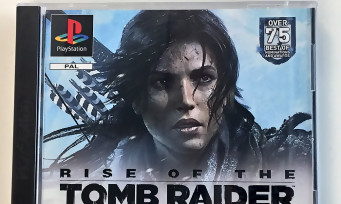 Rise of the Tomb Raider : un press kit ultra collector PSone pour célébrer les 20 ans de Lara Croft
