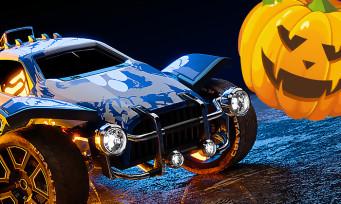Rocket League : les décos d'Halloween disponibles jusqu'au 1er ...