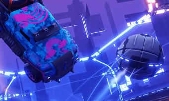 """Rocket League : voici le trailer de """"Dropshot"""", un nouveau mode gratuit !"""