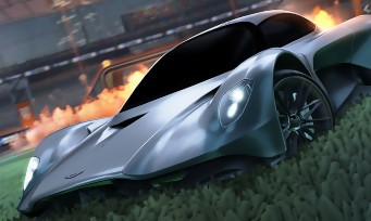 Rocket League: James Bond's Aston Martin Valhalla arrives for the release of No Time to Die