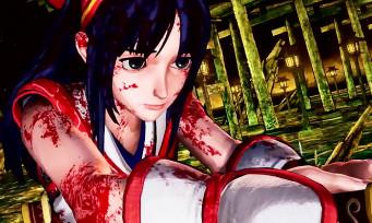 Samurai Spirits : Nakoruru nous présente ses attaques dans ce trailer de gameplay