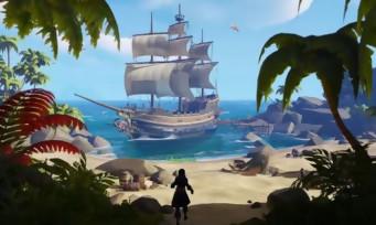 Sea of Thieves : les développeurs expliquent le concept du jeu en vidéo