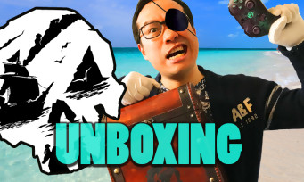 Sea of Thieves : on vous unboxe le press kit + la manette collector