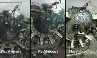 Shadow of the Colossus : PS2 vs PS3 vs PS4, le comparatif qui permet de voir l'évolution des graphismes