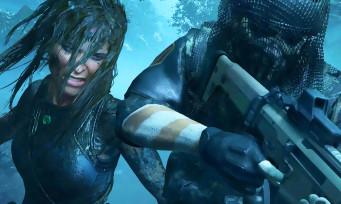 Shadow of the TOMB RAIDER : Lara Croft montre comment elle neutralise ses ennemis