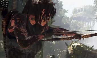 Shadow of the Tomb Raider : un trailer de gameplay acrobatique, Lara Croft en reprise en volée