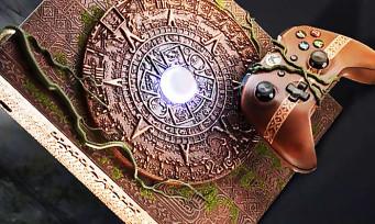 Shadow of the Tomb Raider : une Xbox One à l'effigie du jeu et elle est vraiment impressionnante